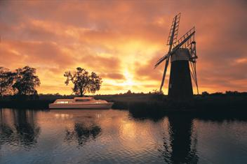 Regionen Norfolk Broads