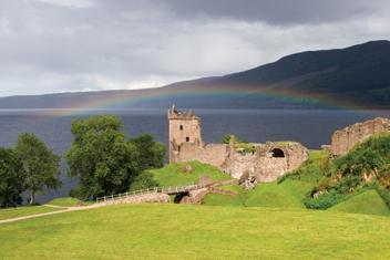 Reiseområde Skottland